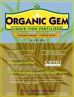 Product nuance matters. Unpasteurized liquid fish (hydrolysate) is not the same as fish emulsion.